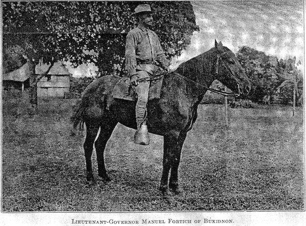 Lieutenant-Governor Manuel Fortich of Bukidnon
