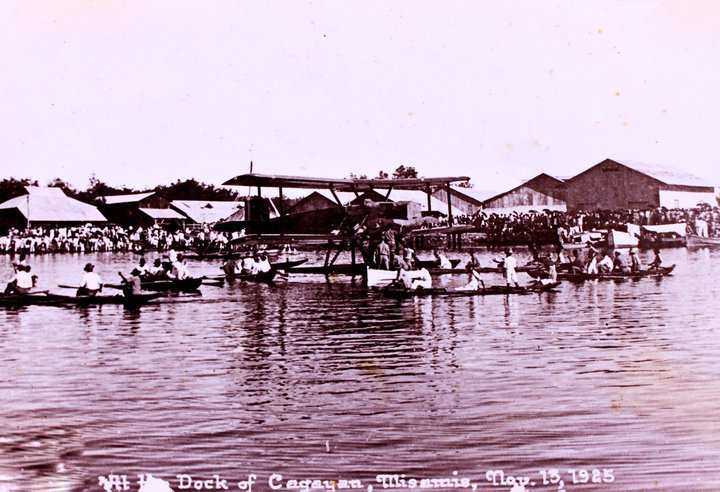The Macabalan Docks where Douglas O-5 landed