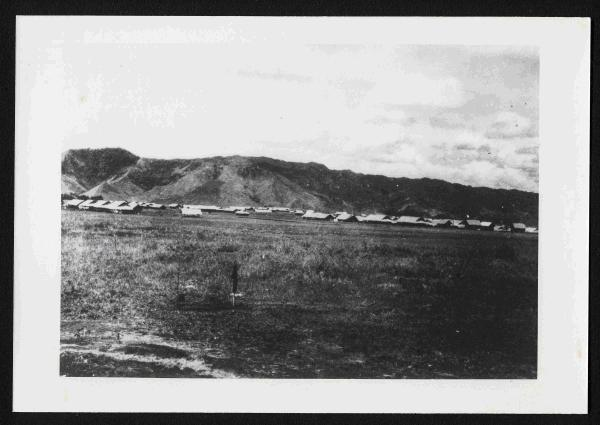 The First Japanese Camp for Prisoners of War in Mindanao 1