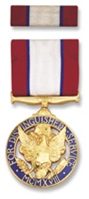 Army Distinguished Service Medal Awarded for actions during the World War II