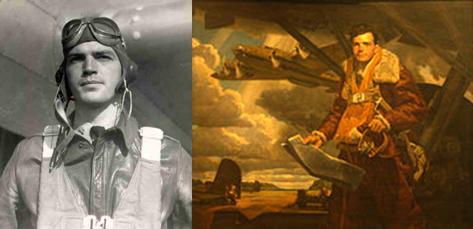 Colin Purdie Kelly, Jr. (/ˈkoʊlɨn/; July 11, 1915 – December 10, 1941) was a World War II B-17 Flying Fortress pilot who flew bombing runs against the Japanese navy in the first days after the Pearl Harbor attack. He is remembered as one of the first American heroes of the war for sacrificing his own life to save his crew when his plane became the first American B-17 to be shot down in combat.