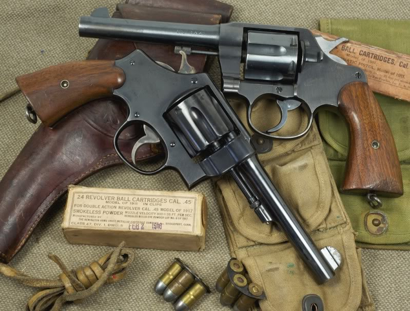 colt and s&w 1917
